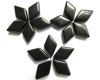 Glass Diamonds: Black, 50g