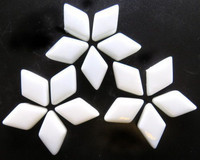 Glass Diamonds: White, 50g