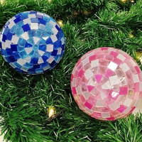 Light Balls, Blue-Pink, DIY