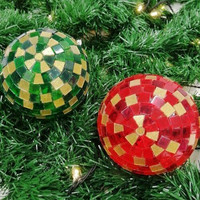 Light Balls, Red-Green, DIY