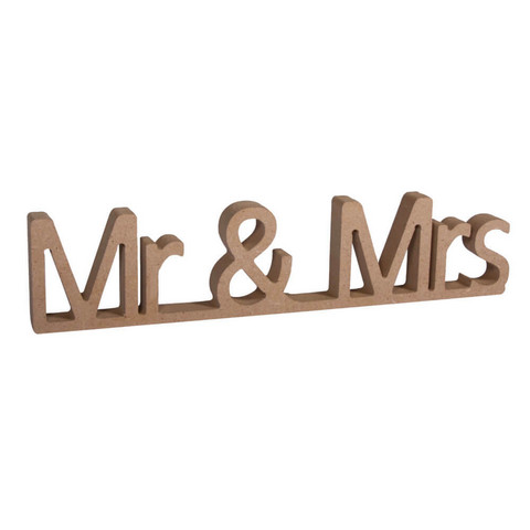MDF- letters