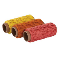 Hemp-cord set, Red mix
