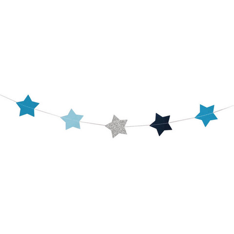 Decorative ribbon, Stars, 2m