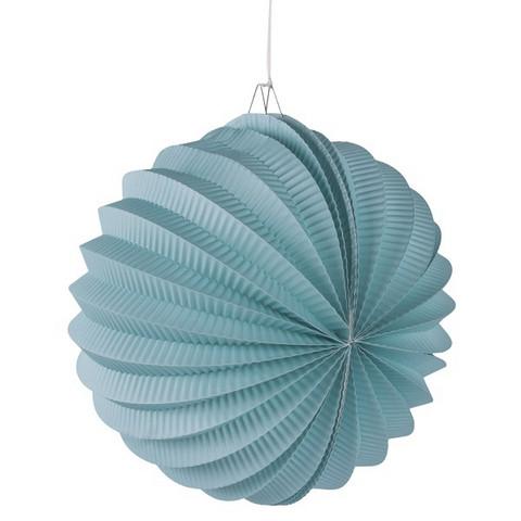 Paper lantern, 22cm ø mint green