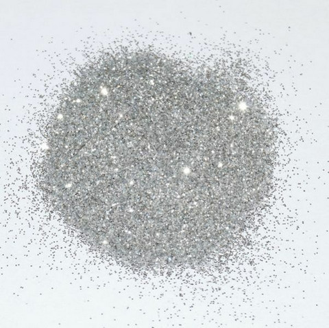 Glitter grout additive, Silver