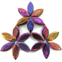 Ceramic leaves, Disco lights, 50g,