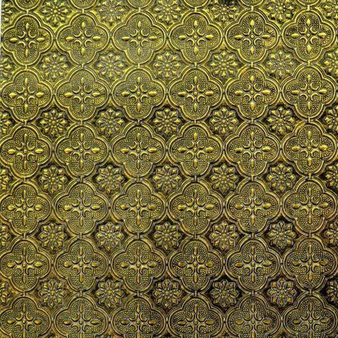 Van Gogh 5x10 cm, Gold Sparkle Flora