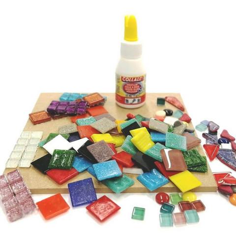 Children's kit, Trivet, square, 2 pcs, DIY