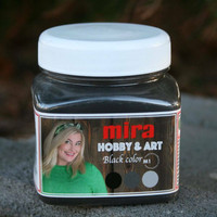 Hobby & Art värijauhe, Black, 300 g