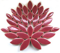 Ceramic leaves, Deep Mauve, 50 g