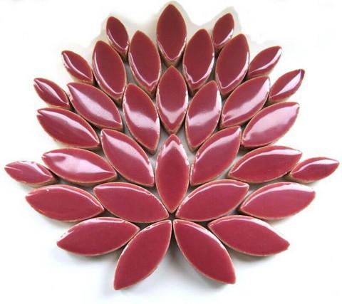 Keramiska löv, Deep Mauve, 50 g