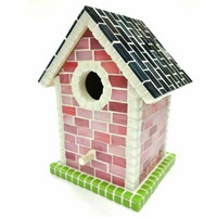 Birdhouse, Pink, DIY