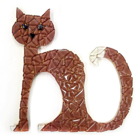 Mosaic cat, DIY