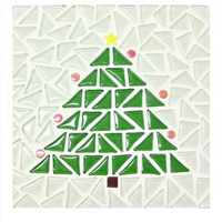 Christmas tree-Trivet, DIY