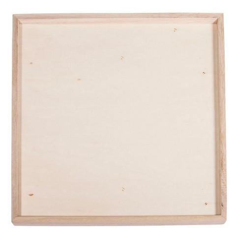 Wooden deco-frames, 21x21x1,5cm