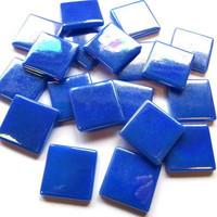 Pâte de Verre, Iriserande Blue, 100 g