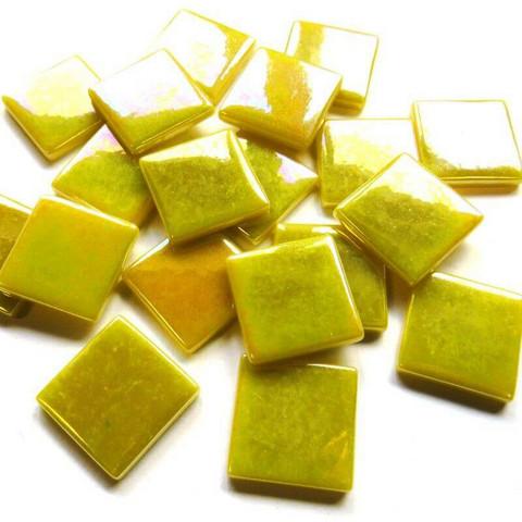 Pâte de Verre, Iridescent Yellow, 100 g