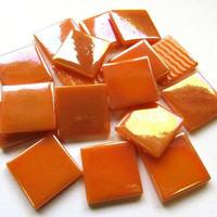 Pâte de Verre, Iridescent Orange, 100 g
