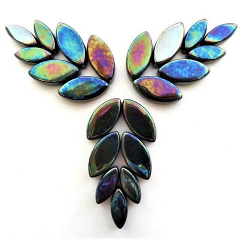 Petals, Black, Iridised, 50 g