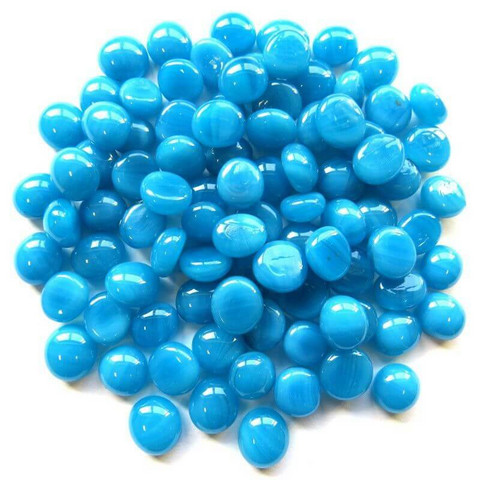 Mini Nuggets, Turquoise Marble, 50 g