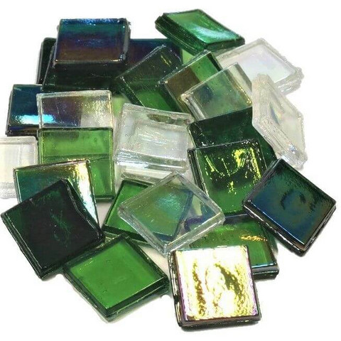 Ice Glas, transparent, Green Mix, 1 kg