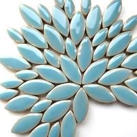 Ceramic leaves, Azure, 50 g