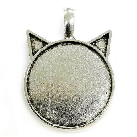 Ramberlock, Katt, färg silver