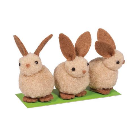 Fleece-puput, 3 kpl, 5 cm