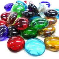 Glasklimpar, Mix Iridescent, 100 g