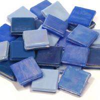 Ice Glass, Blue Mix 1 kg