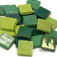 Ice Glass, Green Mix 1 kg