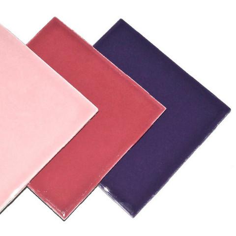 Keramiska kakel, Violet Mix, 21 st
