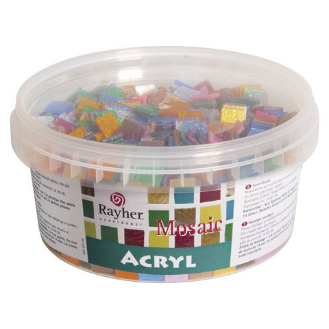 Acrylic Mosaic, Glitter Mix, 300 g