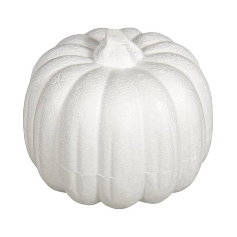 Styrofoam-pumpkin, 11 cm