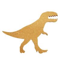 Dinosaurie, 17 cm, MDF