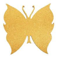 Fjäril 2, 15 cm, MDF
