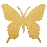 Fjäril 3, 15 cm, MDF