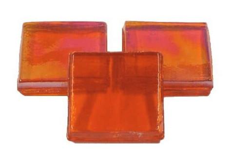 Ice Glass, läpikuultava Orange, 1 kg