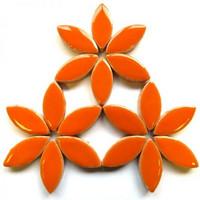 Keraamiset lehdet, Popsicle Orange, 25 mm, 50 g