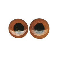 Animals eyes, 12mm, 2 pcs, Glass Material