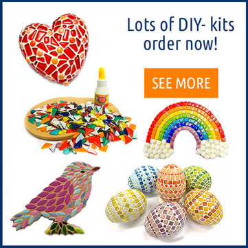 Mosaic DIY-Kits.