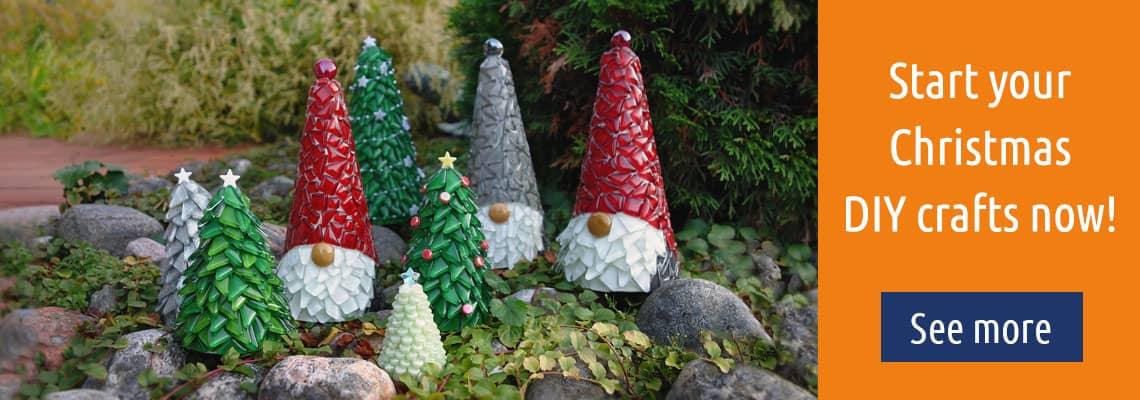 Christmas Crafts - Mosaic