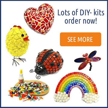DIY-mosaic kits.
