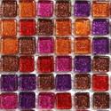 Glitter 10mm, 81 tiles & Sheet (mesh)