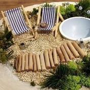 Miniatyrträdgårdar