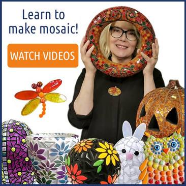 Learn to make mosaic!