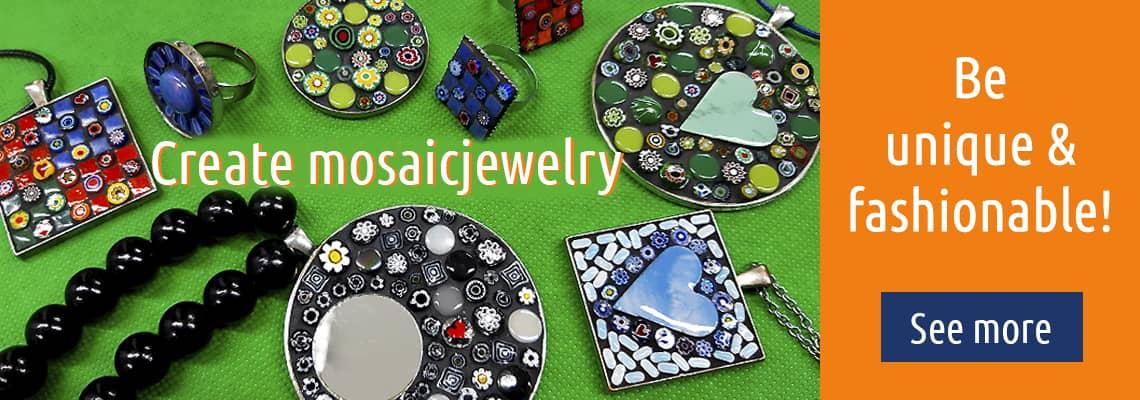 Create mosaicjewelry.
