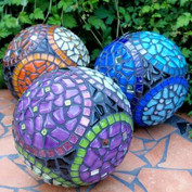 Mosaikkulor - material
