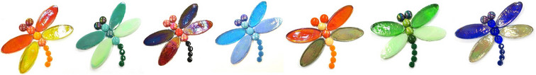 Mosaic tips for the summer dragonflies.