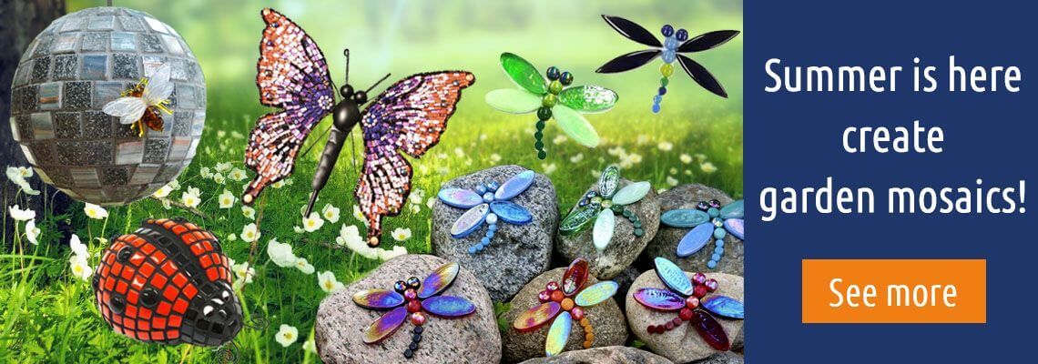 garden mosaics.